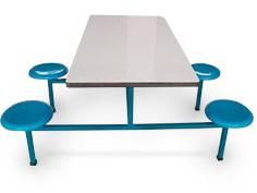食堂餐椅桌
